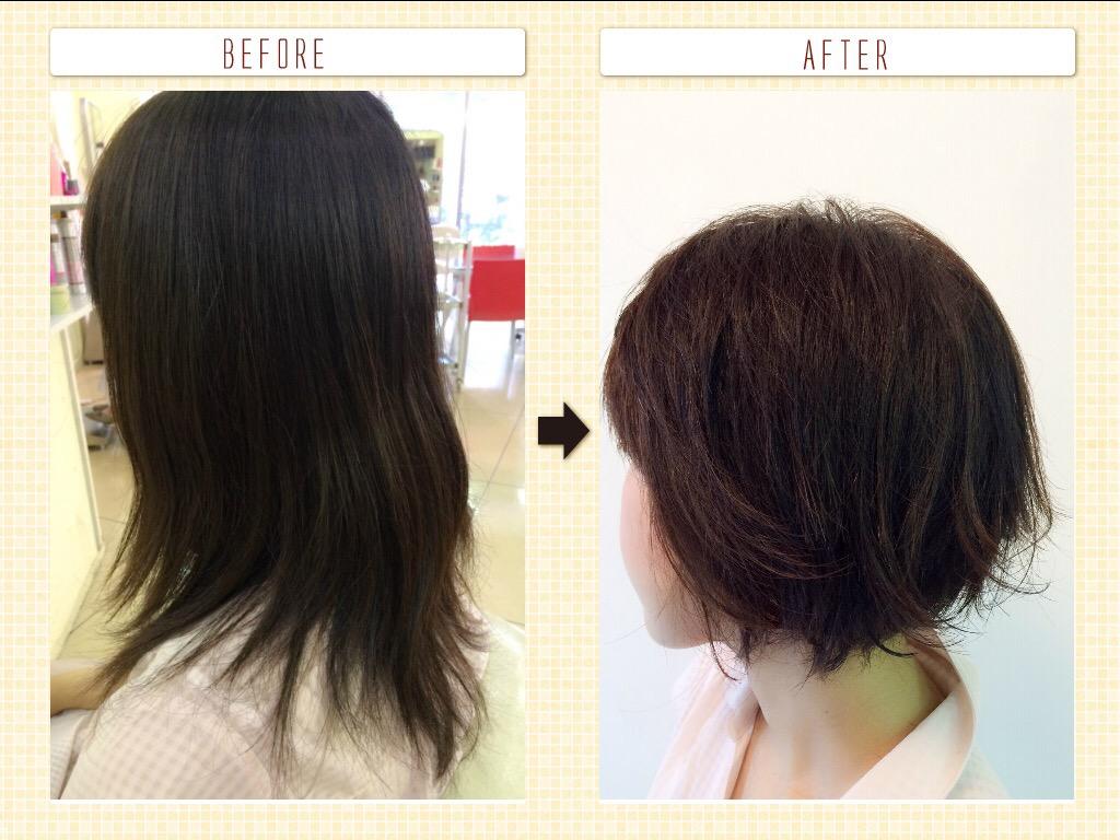 髪の毛って気分や気持ちも大きく影響しますよね^ ^