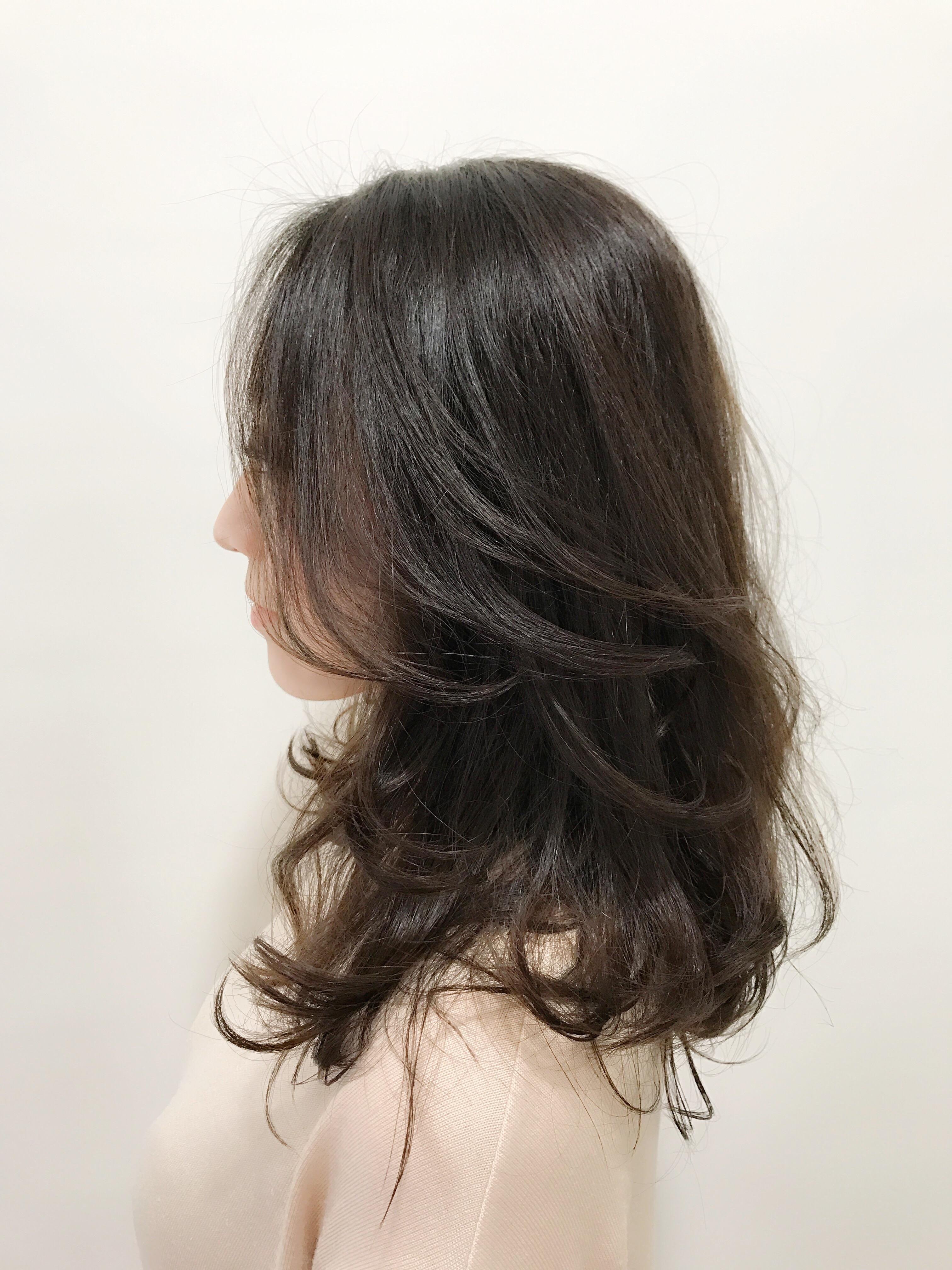 季節と髪の毛の部分部分に合わせて。乾燥、湿気、根本、毛先、前髪……いろいろありますがピンポイントで合わせるのも有りです^ ^