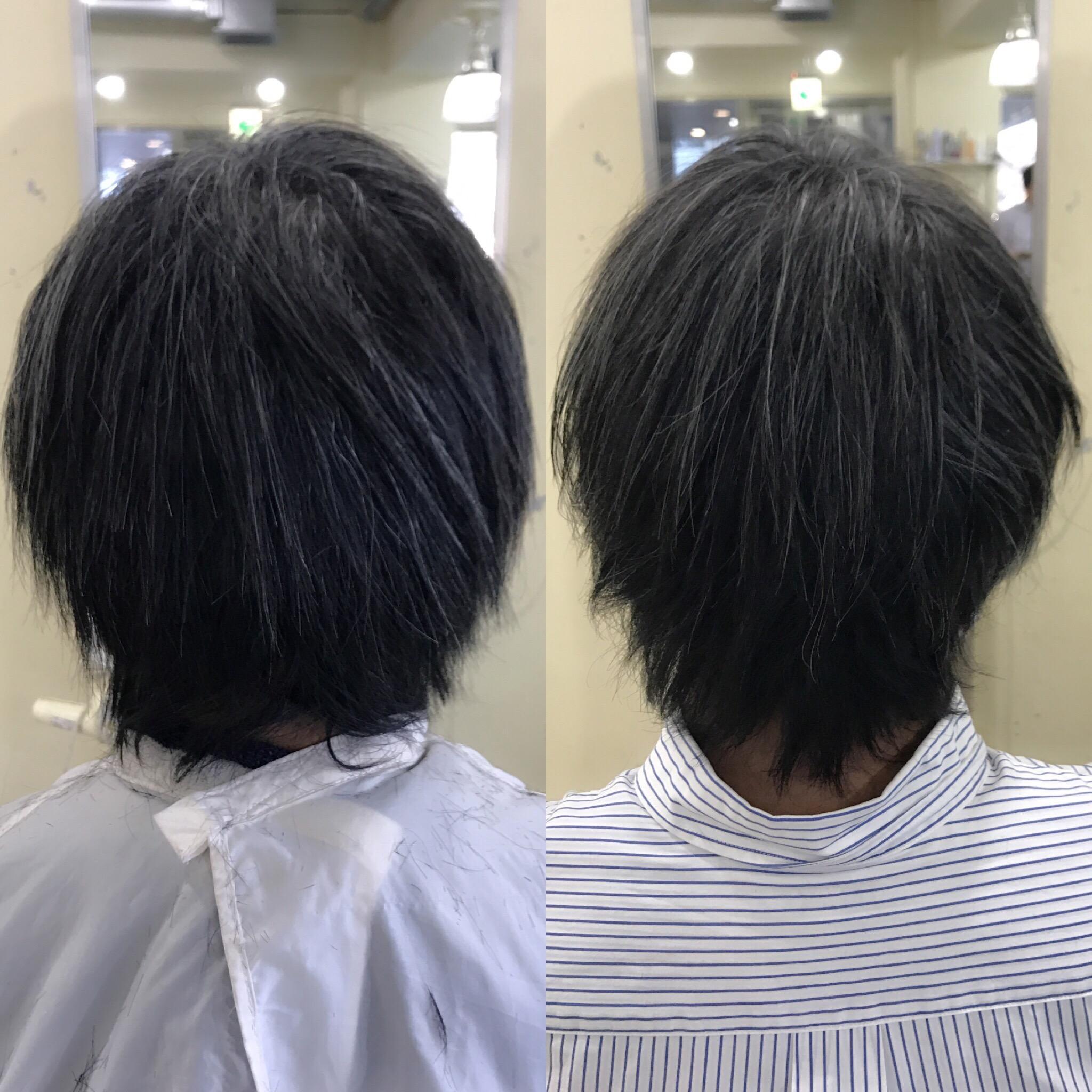 【髪を美に向かって成長させる】そんな事を思い美容師をやっています。そんな中の1つのグロウ縮毛矯正スタイルです^ ^