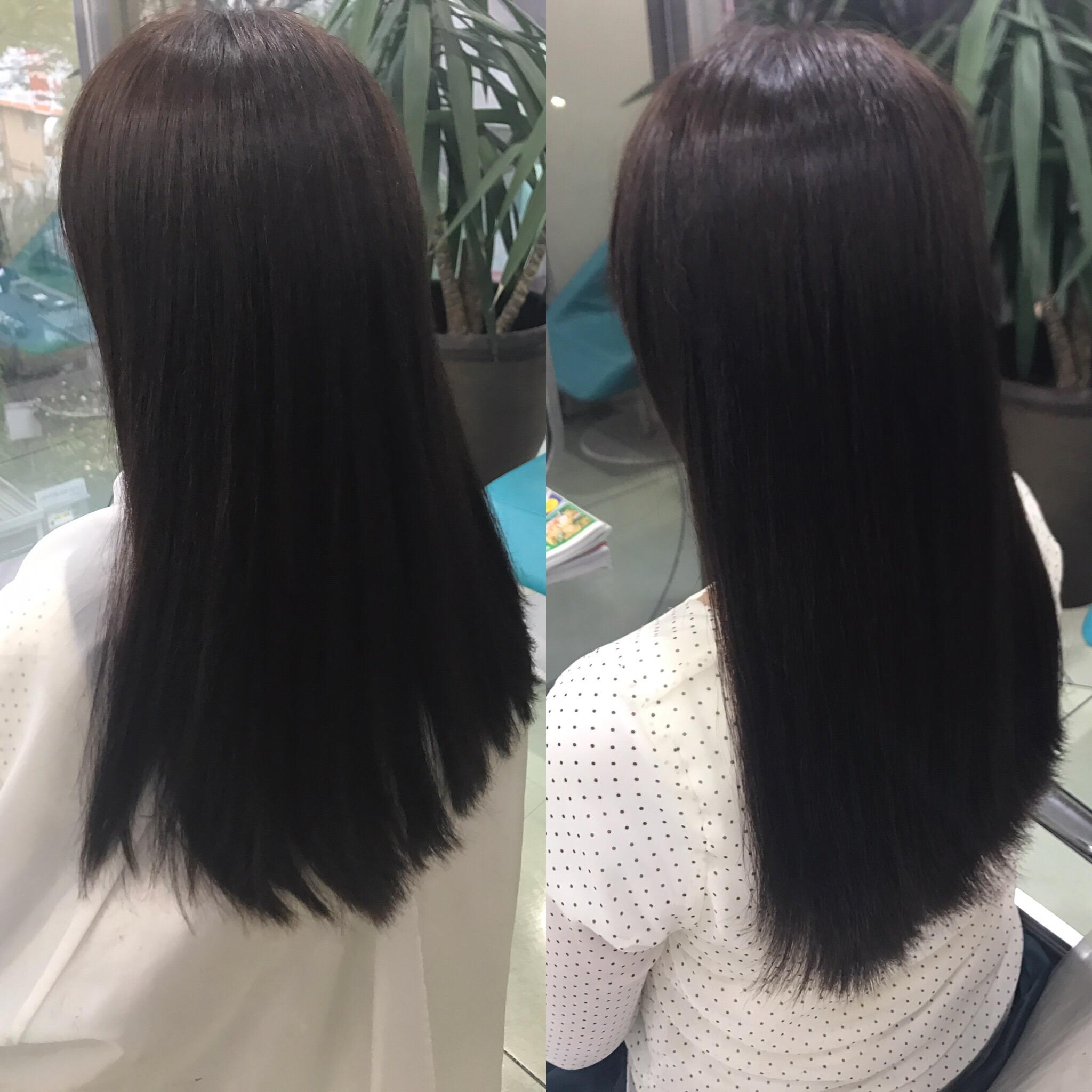 積み重ねて出来上がっていく綺麗でまとまる髪質。ふと思った人の成長へのつぶやきも^ ^