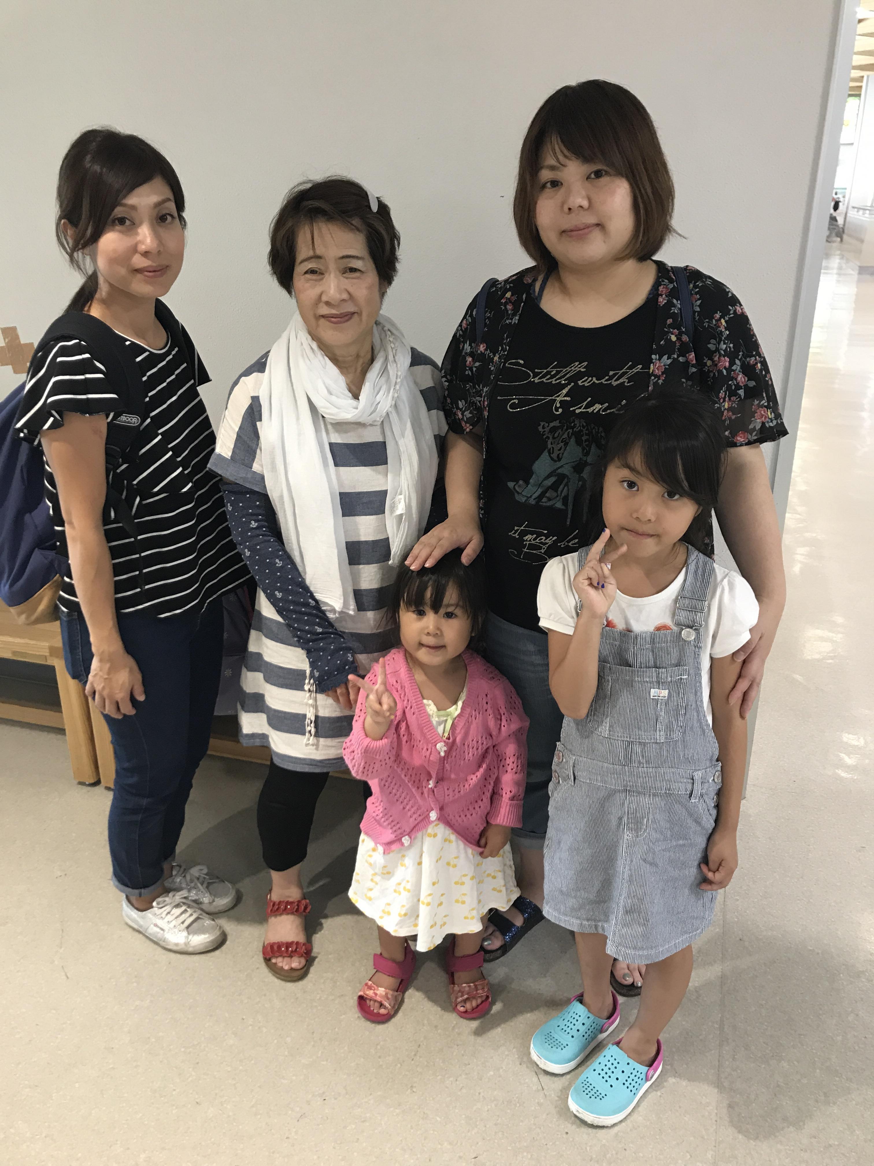 いよいよ東京に戻ります。両親、妹に本当に感謝感謝の熊本帰省でした!