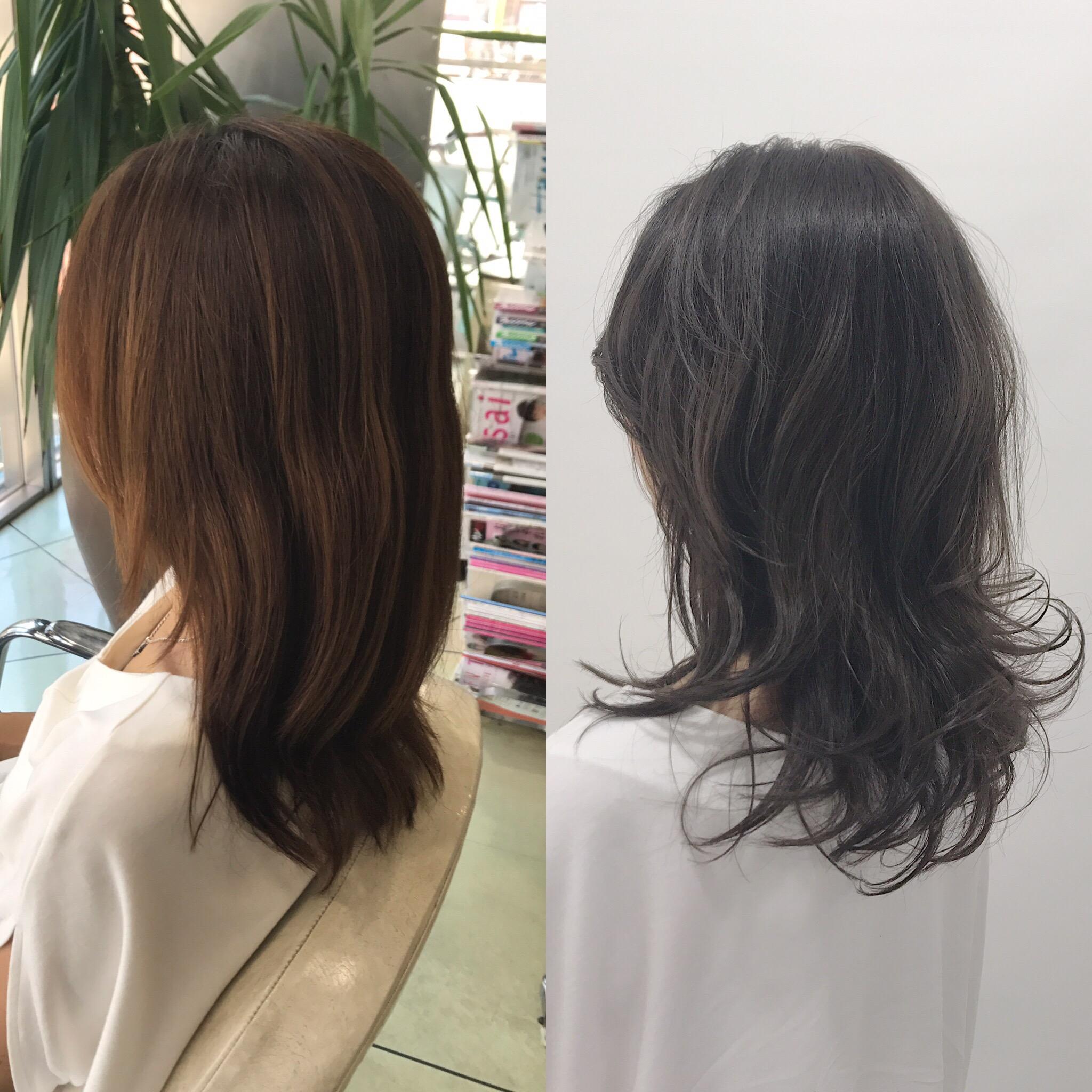 【色】【ツヤ】の効果は絶大!カラーとヘアケアの組合わせで気品ある雰囲気スタイルに!