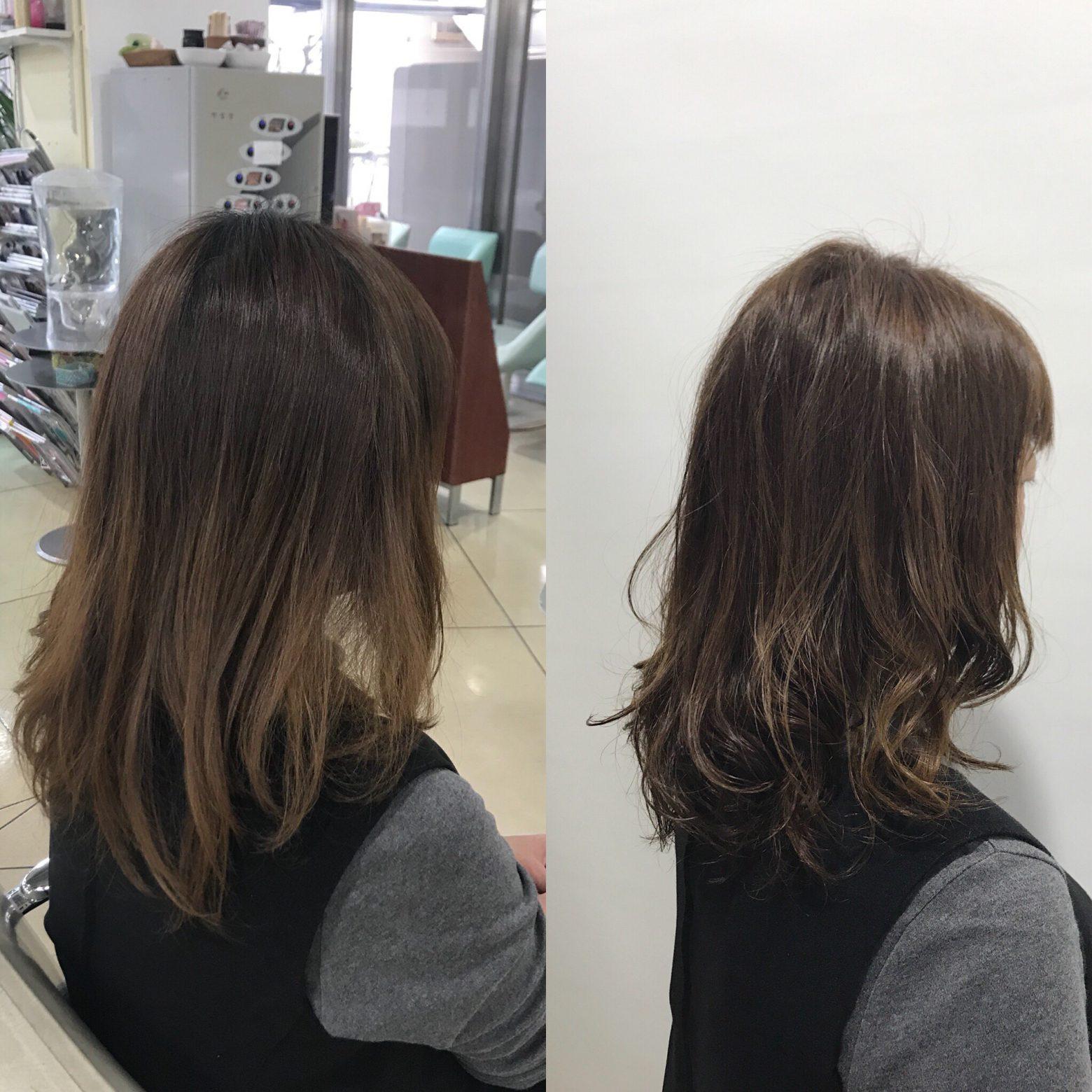ヘアケアで髪のベースが整ってくると時間を優先できる!パーマとカラーの同日施術!