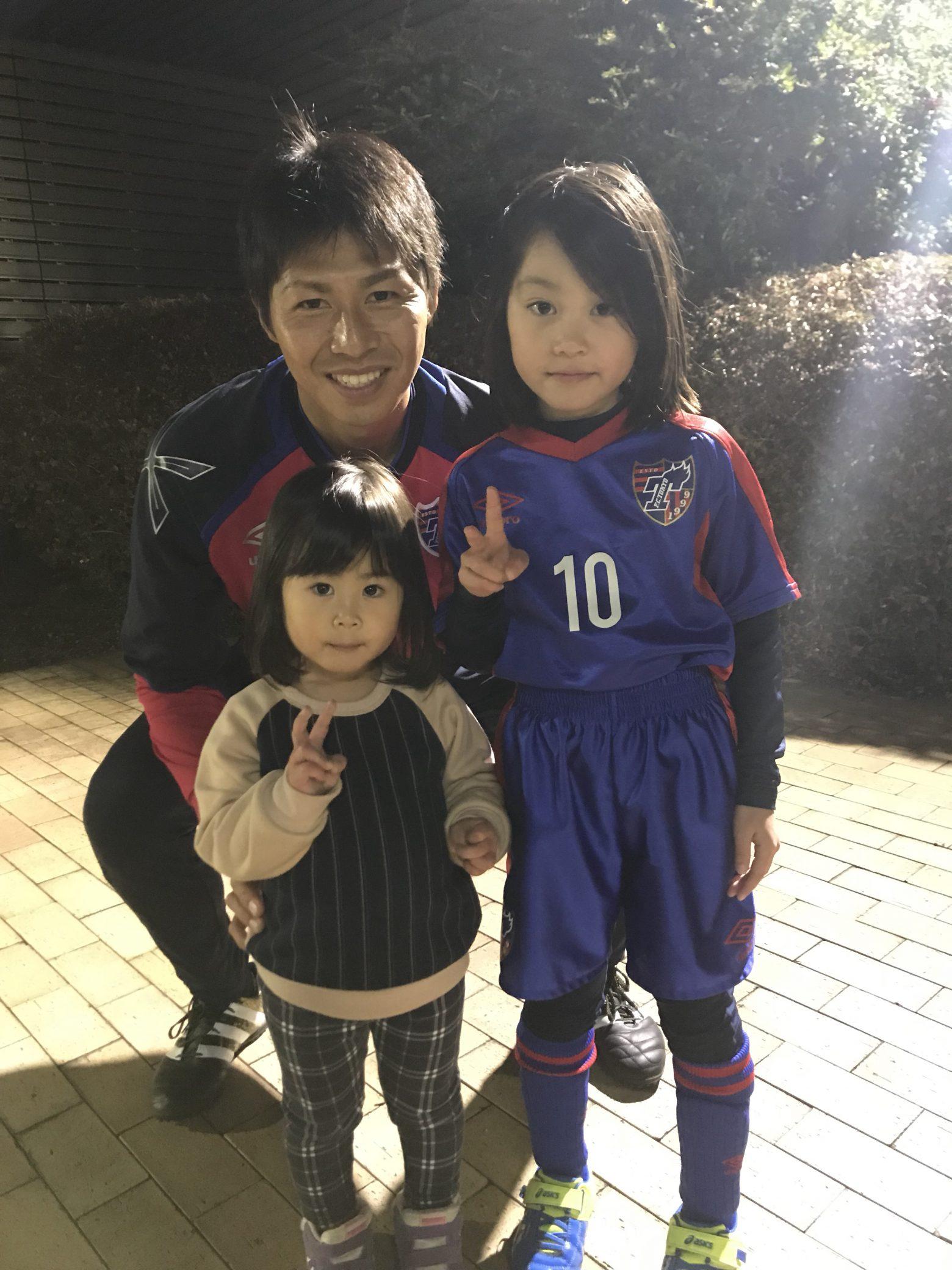 サッカー人での家族日記。FC東京サッカースクールに選手到来!今は良い環境だなぁと^ ^