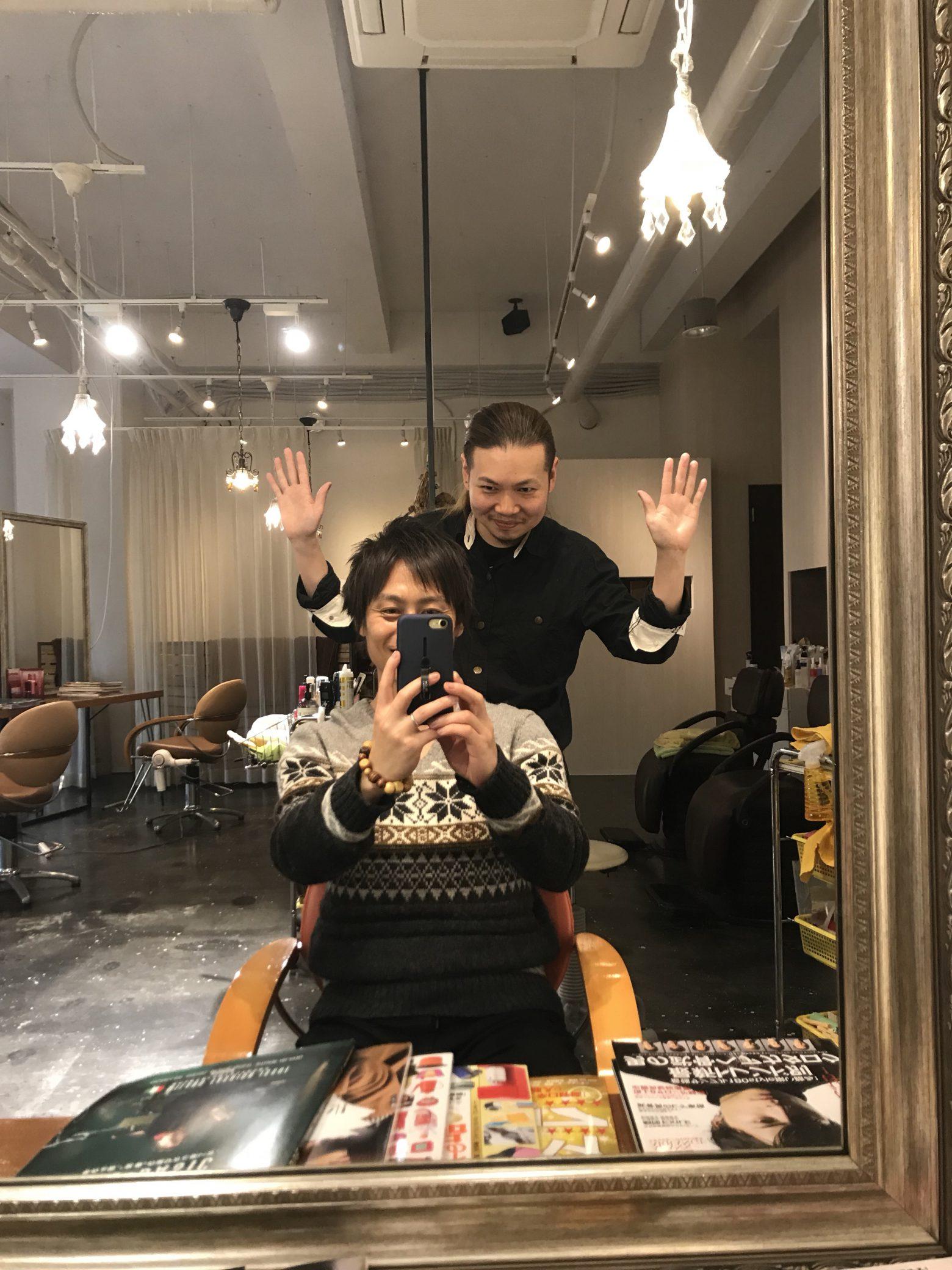 熊本活動。美容師としてとサッカー人として。熊本の素敵な美容師さんとも!