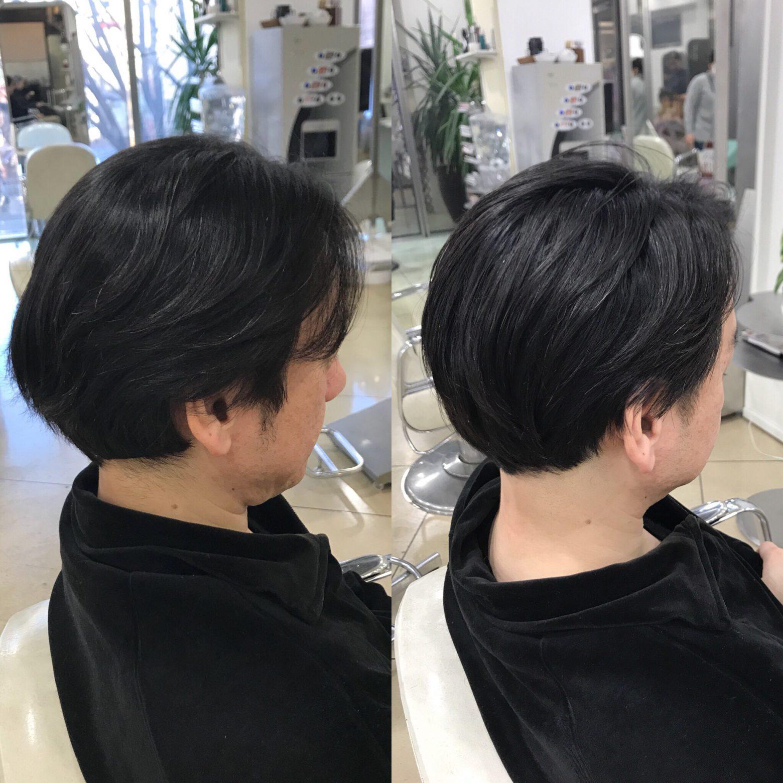 ヘアケアで変わってきた髪質。うねりが減って簡単にスタイリングできるまでに!